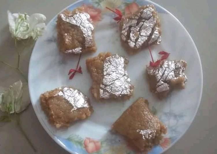 Simple Way to Make Super Quick Homemade Mava fudge