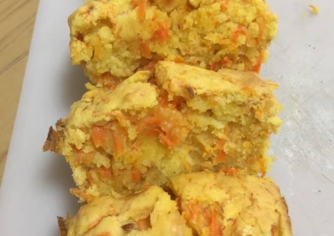 Carrot Cake Rendah Kalori