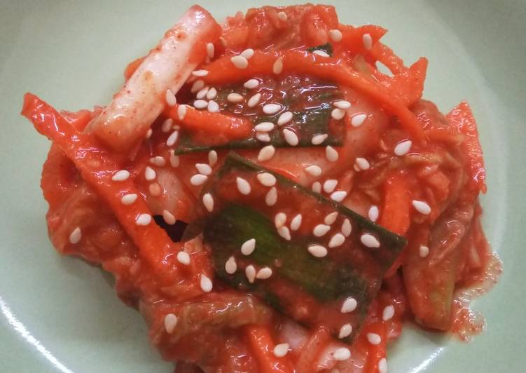 Cara Memasak Kimchi 김치 bunda pasti bisa