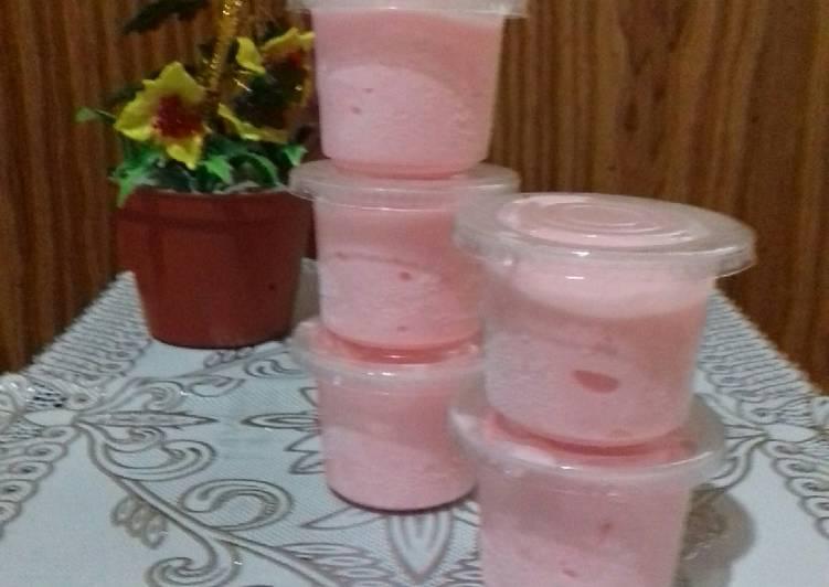 Ice Cream Mix Strawbery