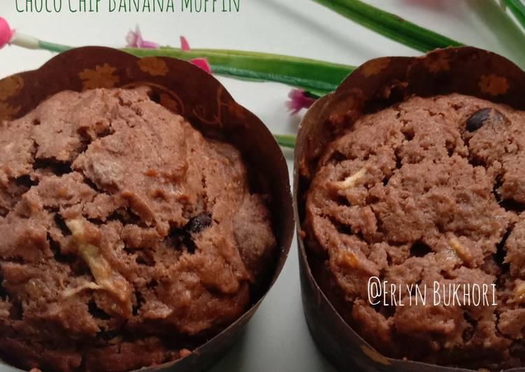 13. Choco Chip Banana Muffin