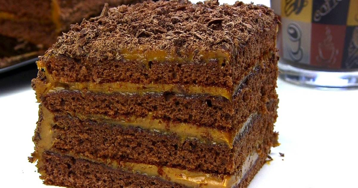 медовик шоколадный рецепт фото пошагово бляшки