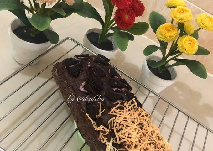 Brownies Panggang Oreo & Chesee by deaf