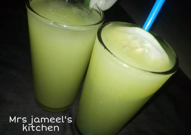 Recipe of Quick Cucumber juice
