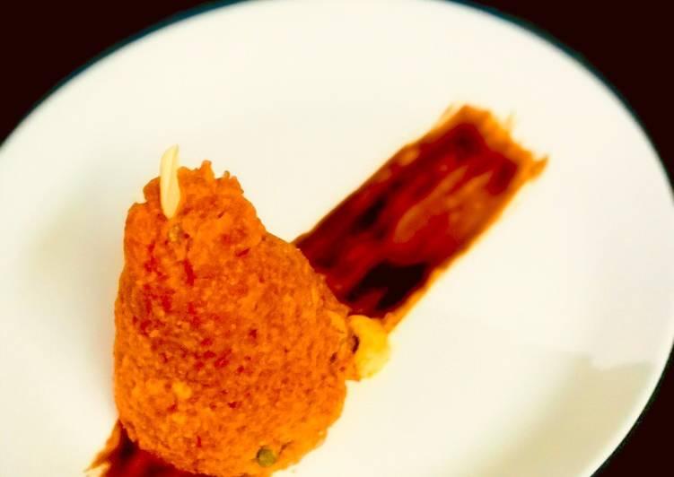 Carrot milk Pudding (carrot halwa)