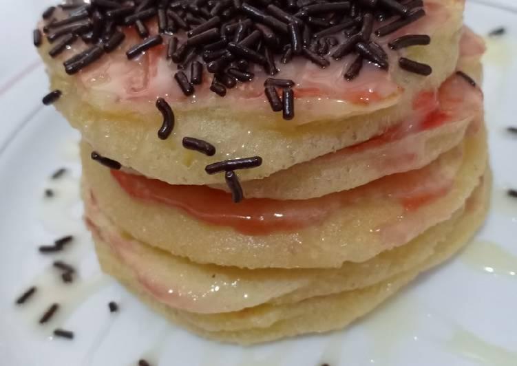 Pancake sederhana dan lembut