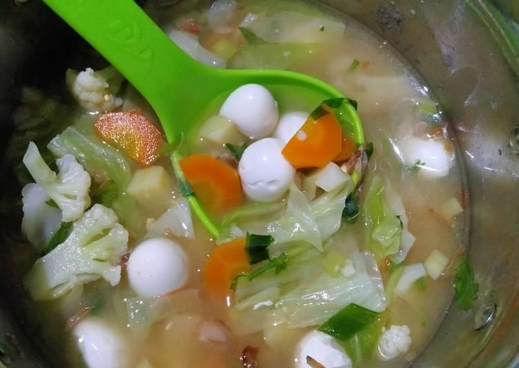 Sup Telur Puyuh