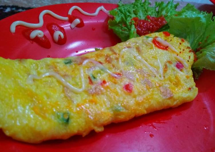 Resep Omlet ala Hotel Top