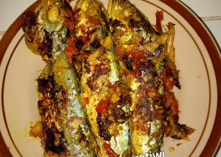 Ikan bakar kembung teflon