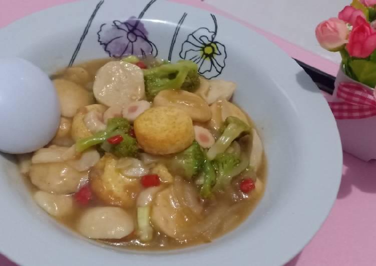 12 Bahan Bikin Sapo Tahu Brokoli Baso Seafood Yang Enak Cookandrecipe Com