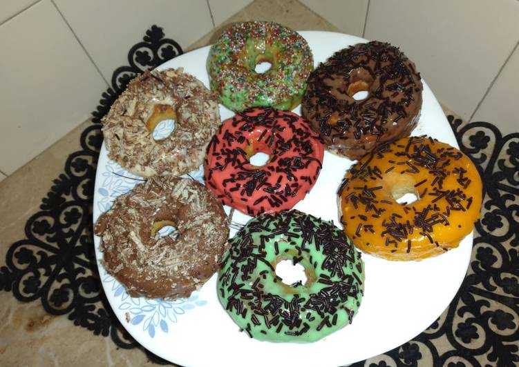 Colorful bake donut, Coconut Oil Is Really A Fantastic Product And Can In Addition Be Beneficial For Your Health