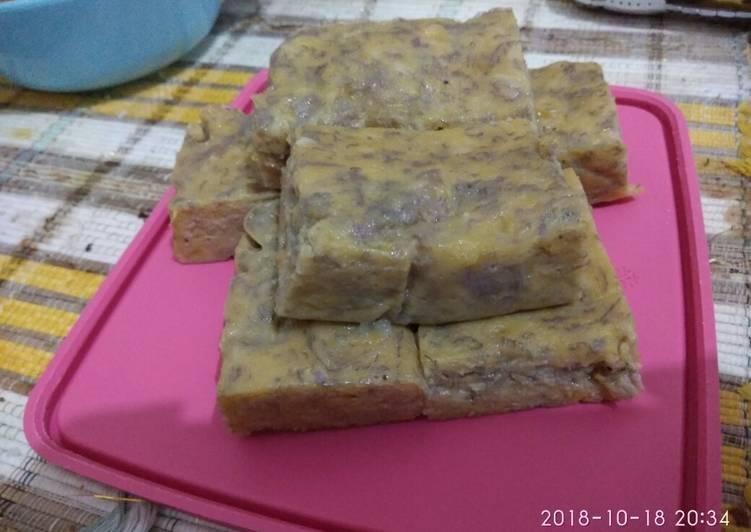 Bolu Pisang Kukus (tanpa baking powder)