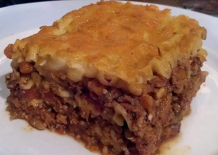 Recipe: Tasty Vickys Eat One Freeze One Lasagne, GF DF EF SF BF