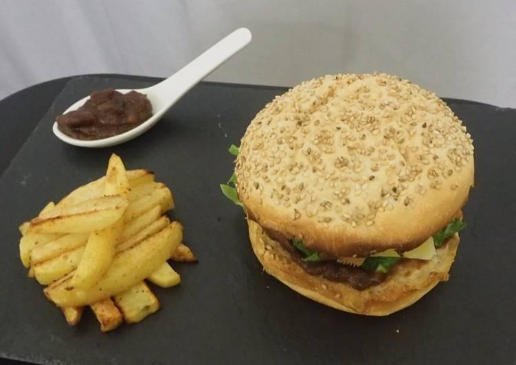 Burger maison végétarien