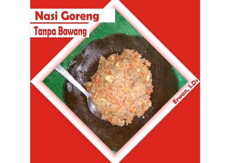 Nasi goreng simpel tanpa bawang