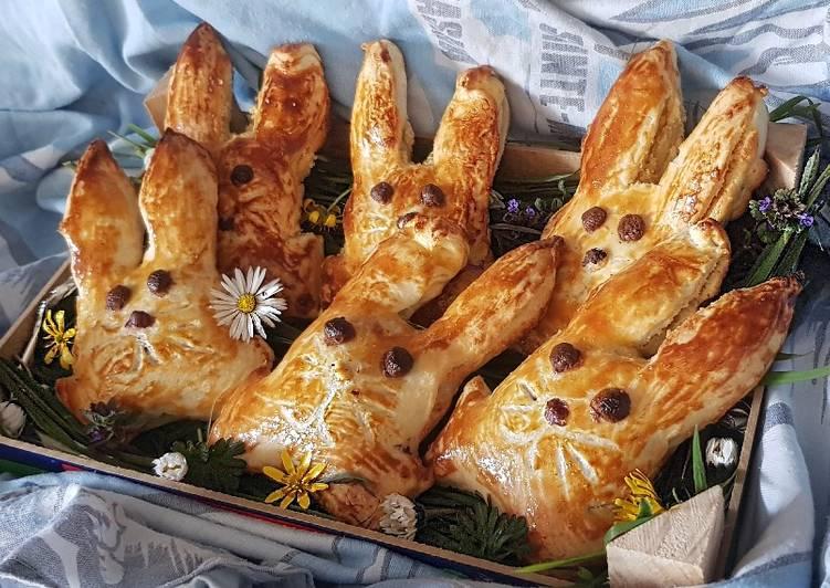 52•🐰 Lapins de Pâques Frangipane-Banane et Frangipane-Choco 🐣
