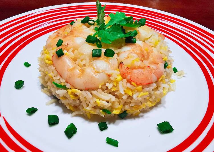 Try Using Food to Boost Your Mood 蝦仁炒飯 SHRIMP FRIED RICE (INSPIRED BY DTF)