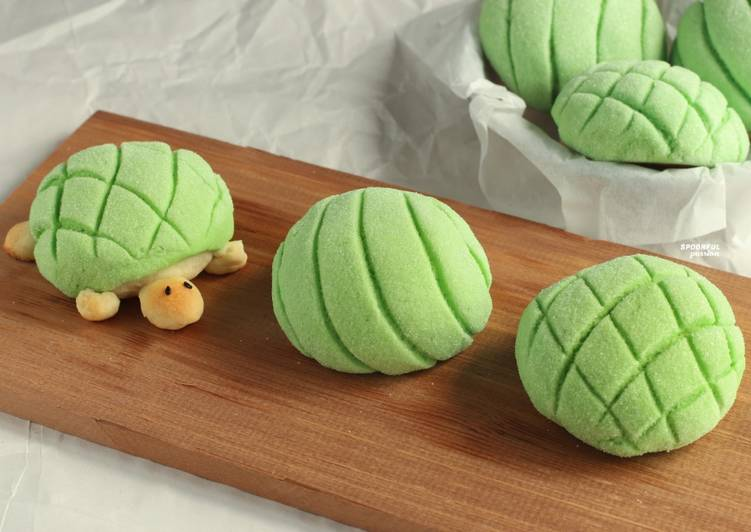 Easiest Way to Cook Appetizing Melon Pan [Melon-Shaped Bun]