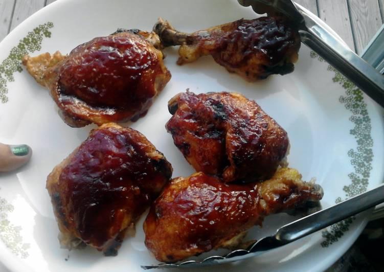 Juicy Azz BBQ Chicken.. Oh yea..