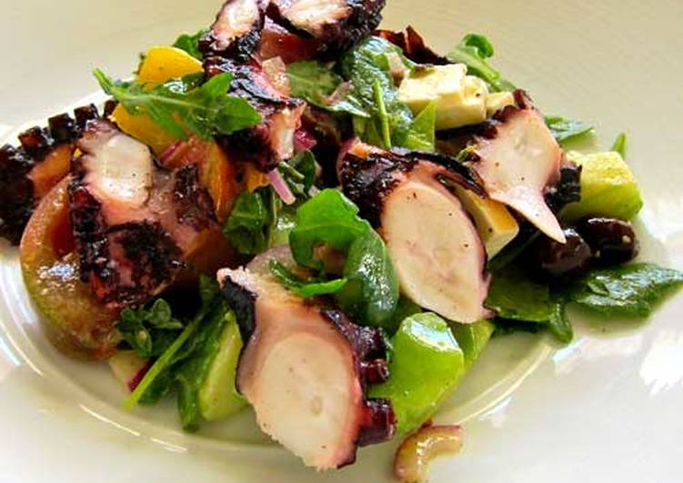 Easiest Way to Make Most Popular Grilled Octopus Salad