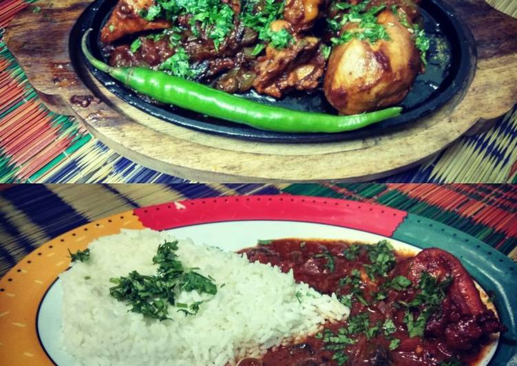 Recipe of Ultimate Honey chicken wings sizzler