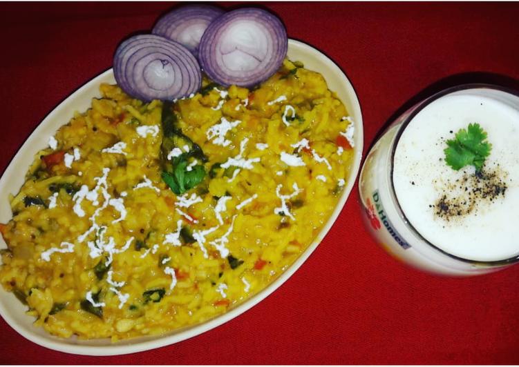 Recipe of Favorite Daliya dalrice khichdi