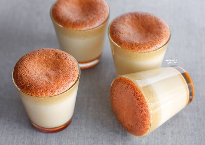 Castella Caramel Pudding