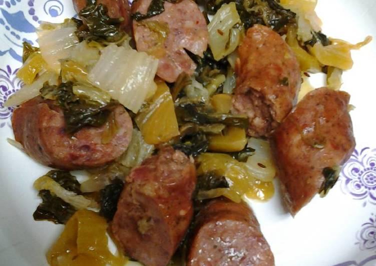 Sausage and bok choy II
