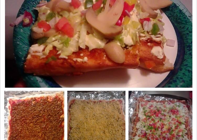 Adri's Taco Pizza