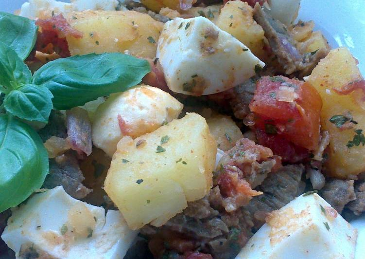 Sig's Salad with Beef