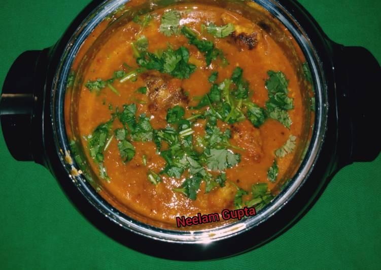 Gourd kofta curry