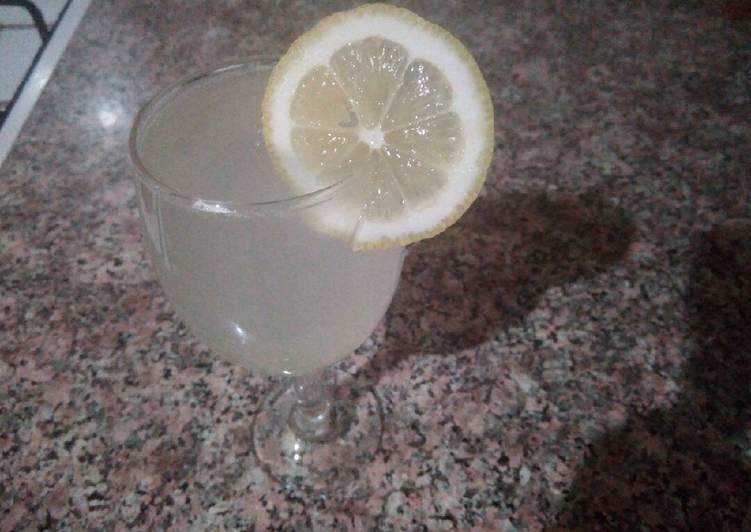 Jus de citron naturel