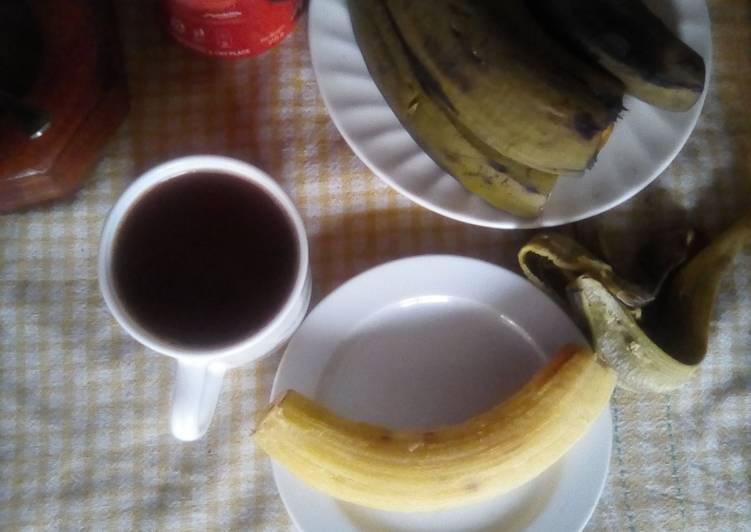 Breakfast bananas