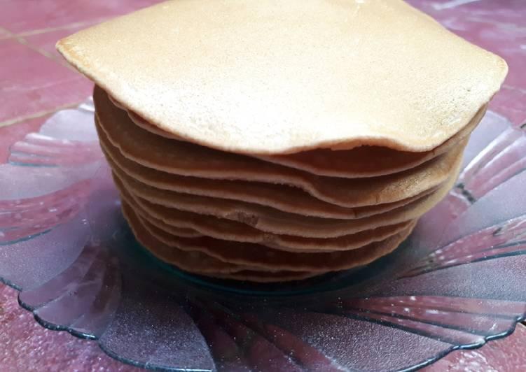 Pancake coklat ekonomis