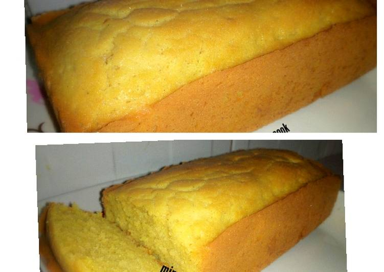 Steps to Make Top-Rated Vanilla cake loaf