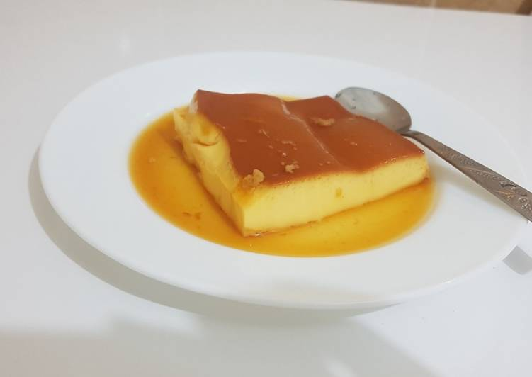 Flan caramel au four