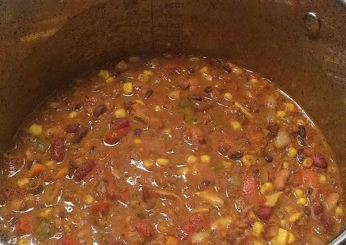 Vegan chipotle chilli