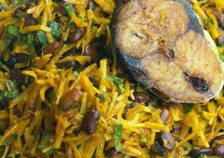 How to Make Ultimate Abacha and black bean