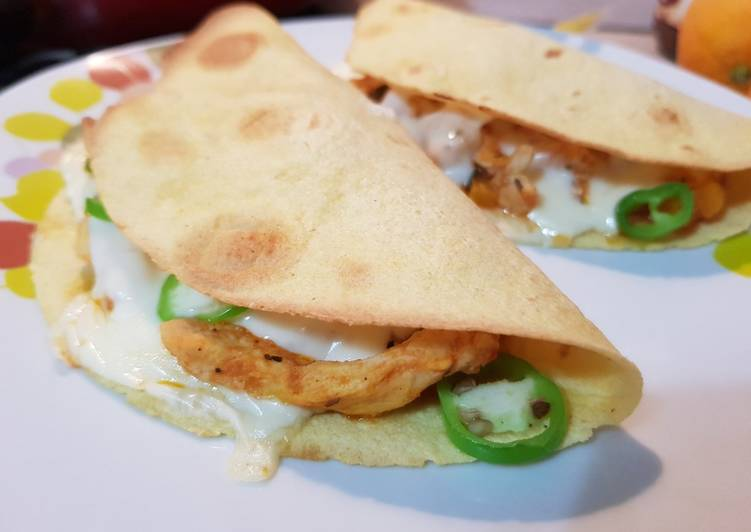 Steps to Make Favorite Chicken Quesadillas