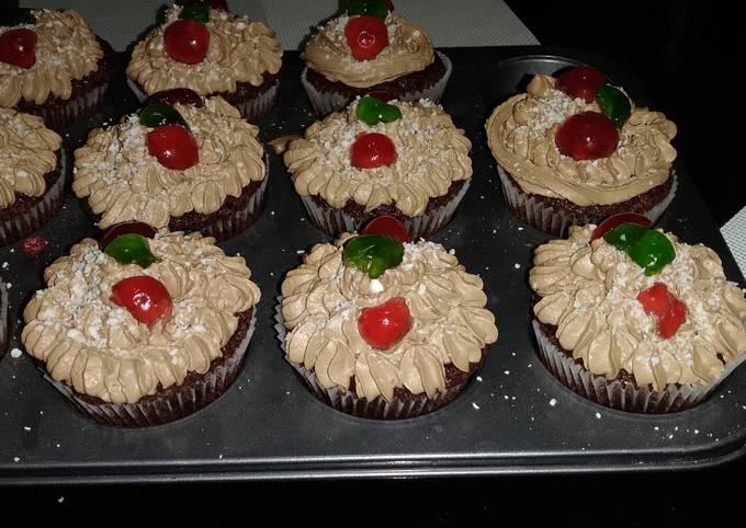 Recipe: Delicious Mocha muffins#marathon#mums recipe