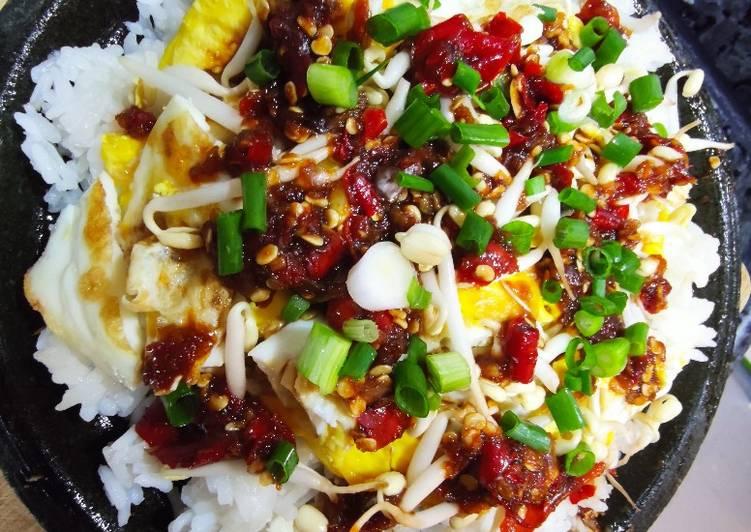 Cara Gampang Menyiapkan Nasi Telur Kecap Anti Gagal