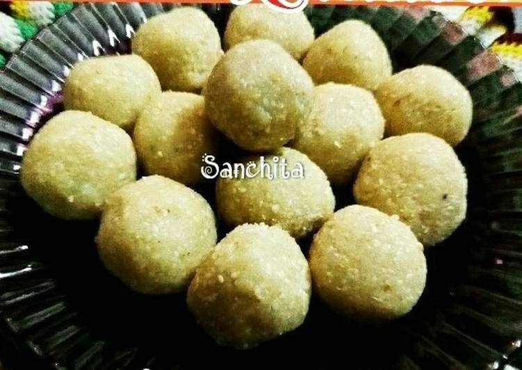 Recipe of Any-night-of-the-week Til Mawa Laddoos