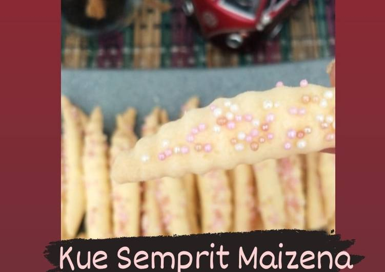 Kue semprit maizena - cookandrecipe.com