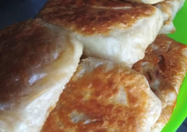 MAMI goreng (MArtabak MIe) abon daging
