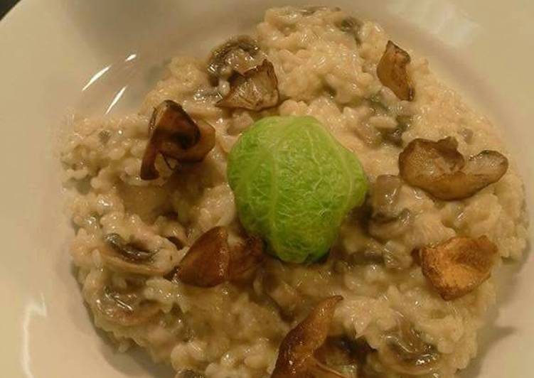 Easiest Way to Make Quick Wild mushroom risotto