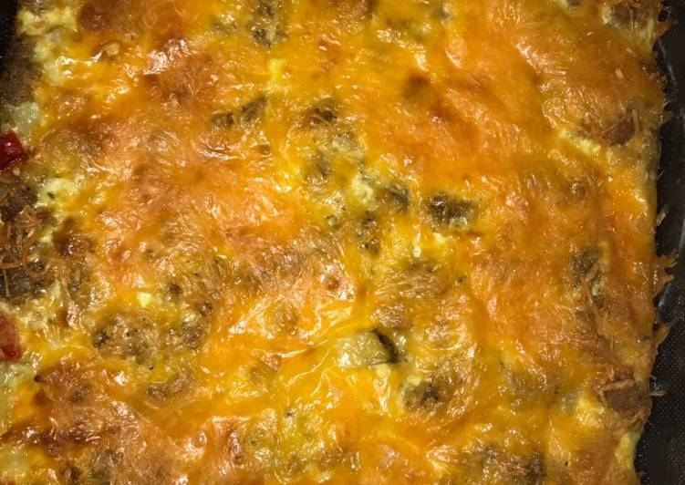 How to Make Quick Sausage breakfast casserole