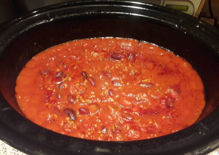 Mum's Easy Crockpot Chilli