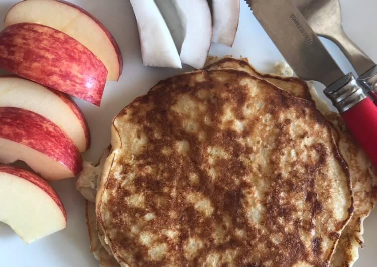 Bannana egg pancakes