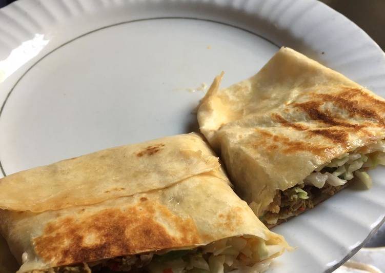 Recipe of Ultimate Tortilla shawarma