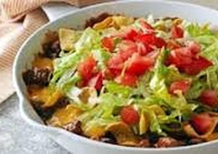 Steps to Make Homemade Fresh taco salad